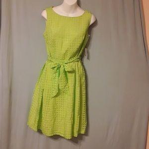 Tender GREEN Anne klein dress